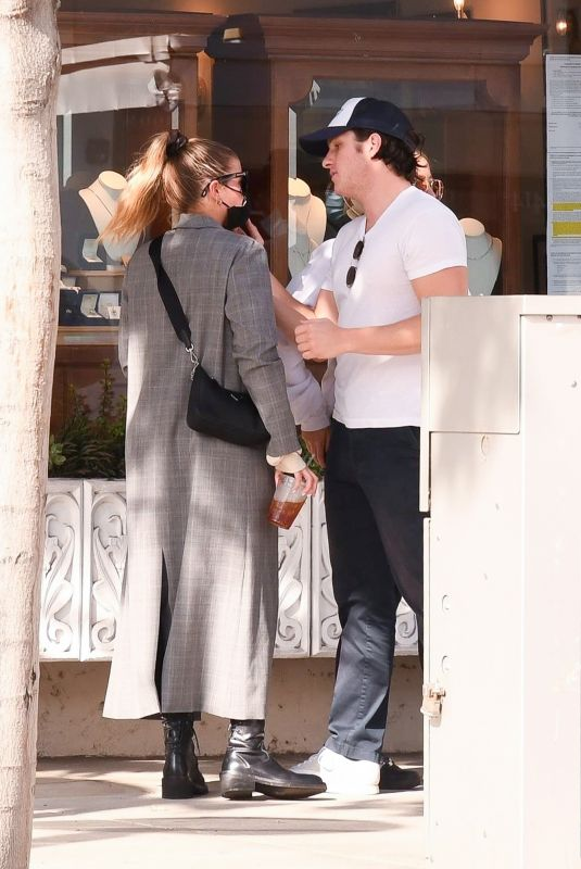 SOFIA RICHIE and Matthew Morton looks Out for Lunch in Beverly Hills 11/06/2020
