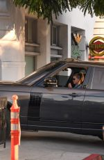 SOFIA RICHIE Driving Out in Los Angeles 11/12/2020