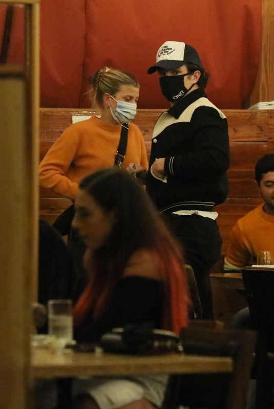 SOFIA RICHIE Out for Dinner in Los Angeles 11/02/2020