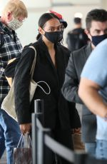 SOLANGE KNOWLES at LAX Airport in Los Angeles 11/22/2020