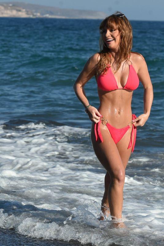 SUMMER MONTEYS-FULLAM in Bbikini at a Beach in Cyprus 10/15/2020