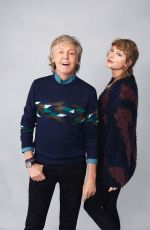 TAYLOR SWIFT and Paul McCartney for Rolling Stone Magazine, November 2020