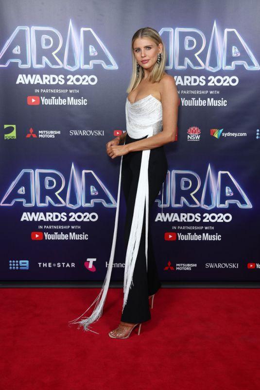 TEGAN MARTIN at 2020 ARIA Awards in Sydney 11/25/2020