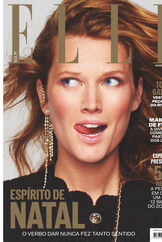 TONI GARRN in Elle Magazine, Portugal December 2020