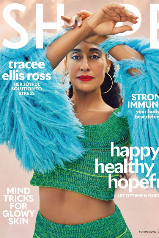 TRACEE ELLIS ROSS in Shape Magazine, November 2020
