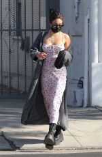 VANESSA HUDGENS Out for Coffee in Los Feliz 11/21/2020