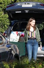 VICTORIA PEDRETTI on the Set of You, Third Season in Los Angeles 11/12/2020