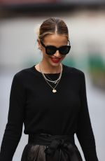 VOGUE WILLIAMS Arrives at Heart Radio in London 11/22/2020