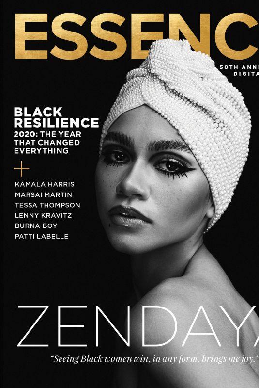 ZENDAYA in Essence Magazine, November/December 2020