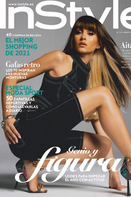 AITANA in InStyle Magazine, Spain January/February 2021