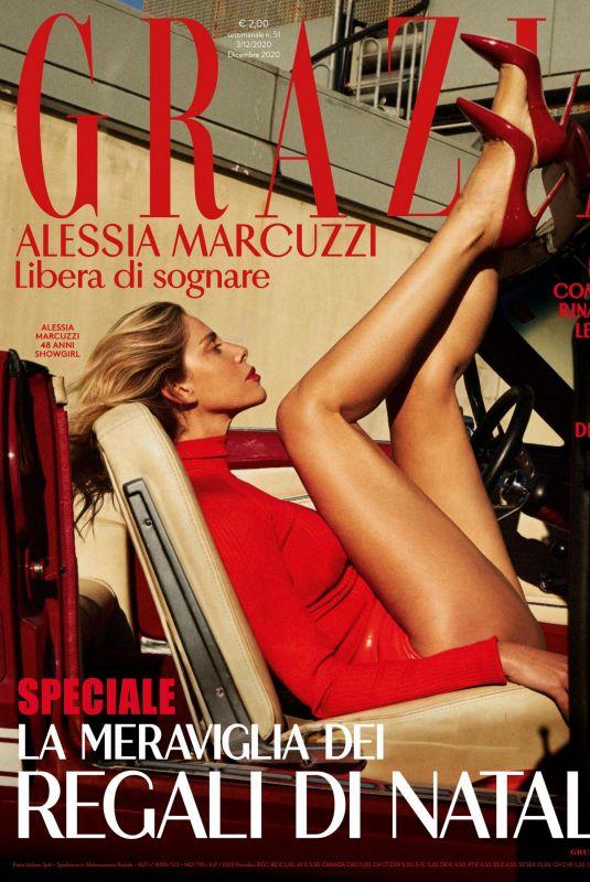 ALESSIA MARCUZZI in Grazia Magazine, Italy December 2020