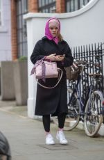 ALICE EVE Out and About in London 12/07/2020