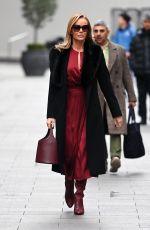 AMANDA HOLDEN Leaves Global Studios in London 12/02/2020
