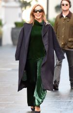 AMANDA HOLDEN Leaves Global Studios in London 12/15/2020