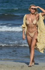 AMBER TURNER in Bikini at a Beach in Dubai 12/09/2020