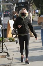 AMBER VALLETTA Out and About in Los Angeles 12/16/2020