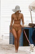 AMBRA GUTIERREZ in Bikini at a Beach in Miami 12/12/2020
