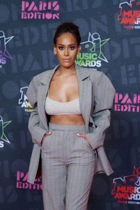 AMEL BENT at NRJ Music Awards in Paris 12/05/2020