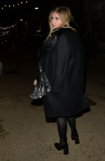 AMY HART Arrives at Turbine Theatre in London 12/04/2020