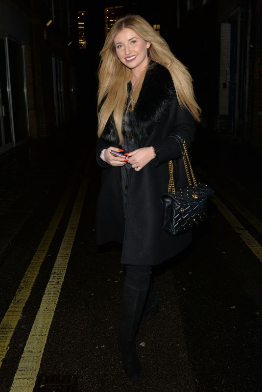 AMY HART at Hakkasan Restaurant in London 12/14/2020