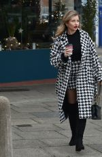 AMY HART Out and About in Worthing 12/22/2020