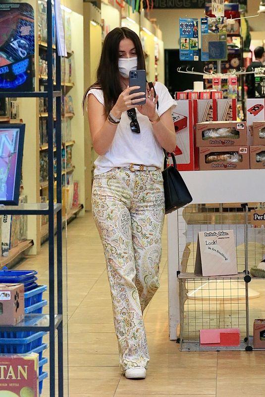 ANA DE ARMAS Out Shopping in Santa Monica 12/09/2020