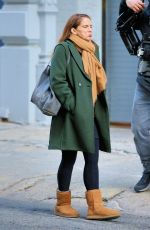 ANNA CHLUMSKY on the Set of Inventing Anna in New York 12/02/2020