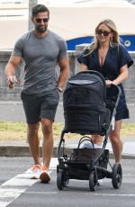 ANNA HEINRICH and Tim Robards Out in Sydney 12/11/2020