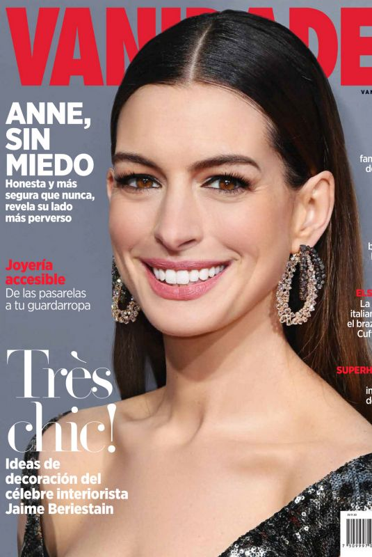 ANNE HATHAWAY in Vanidades Magazine, Mexico November 2020
