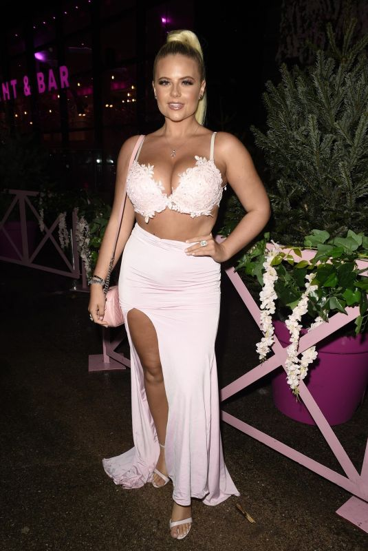 APOLLONIA LLEWLLYN at Boujee Restaurant Launch Party in Liverpool 12/03/2020