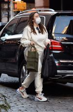ASHLEY GRAHAM Arrives at Her Hotel in New York 12/18/2020