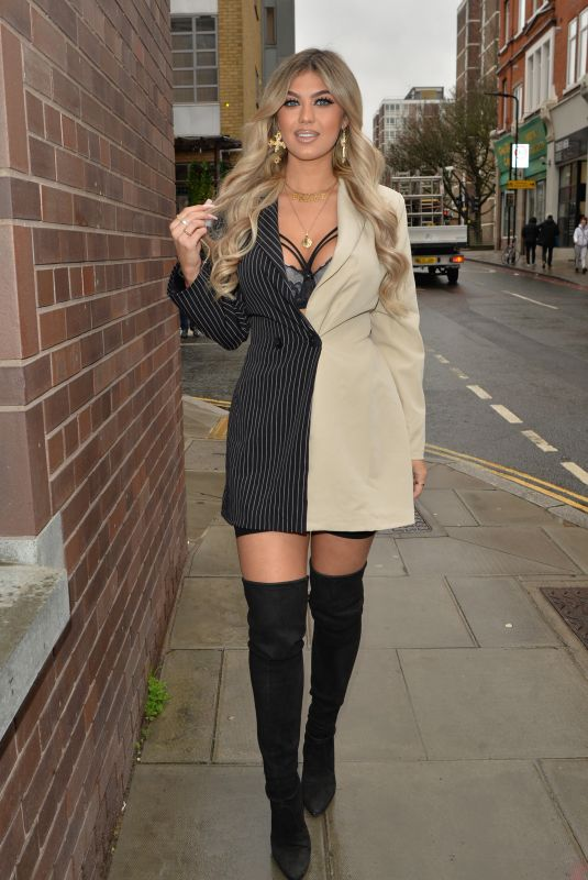 BELLE HASSAN Arrives at HLD Studios in London 12/14/2020