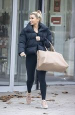 BILLIE FAIERS Leaves Slough Ice Rink 12/02/2020