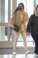 BROOKE SHIELDS Arrives at JFK Airport in New York 12/12/2020