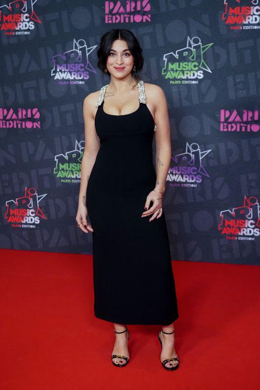 CAMELIA JORDANA at NRJ Music Awards in Paris 12/05/2020