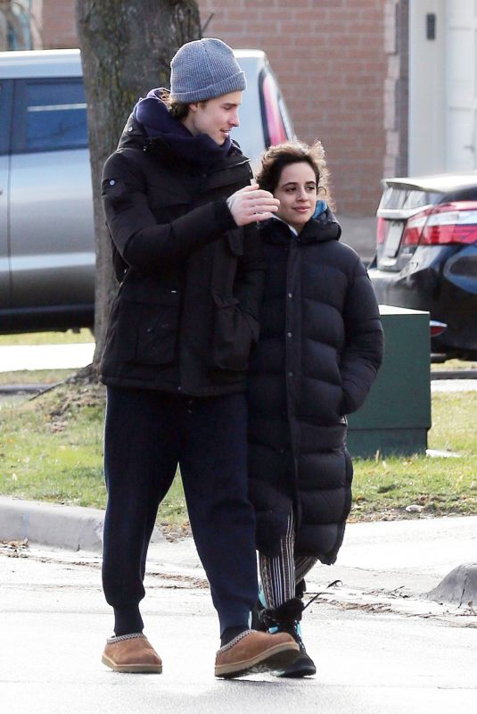 CAMILA CABELLO and Shawn Mendes Out in Pickering 12/22/2020
