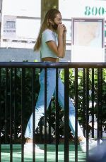 CANDICE SWANEPOEL at a Park in Miami 12/23/2020
