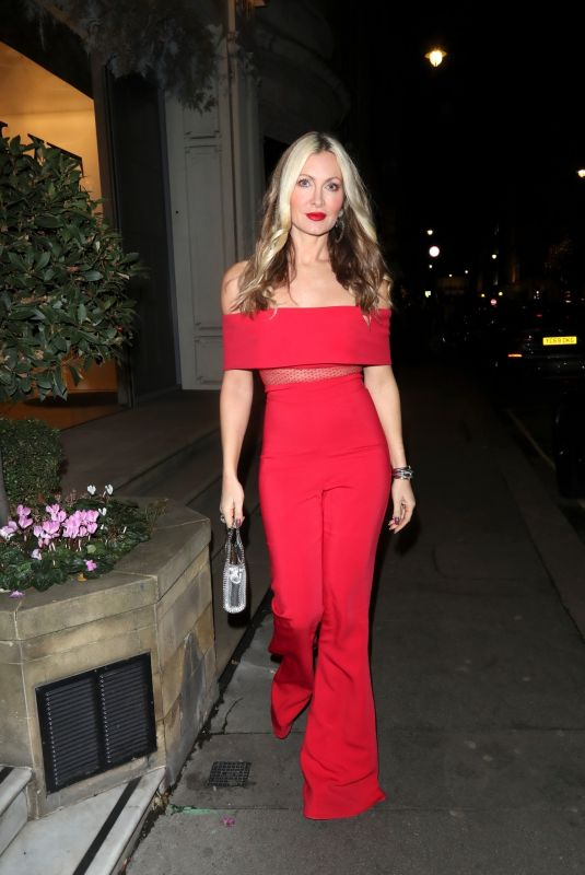 CAPRICE BOURRET Night Out in London 12/05/2020