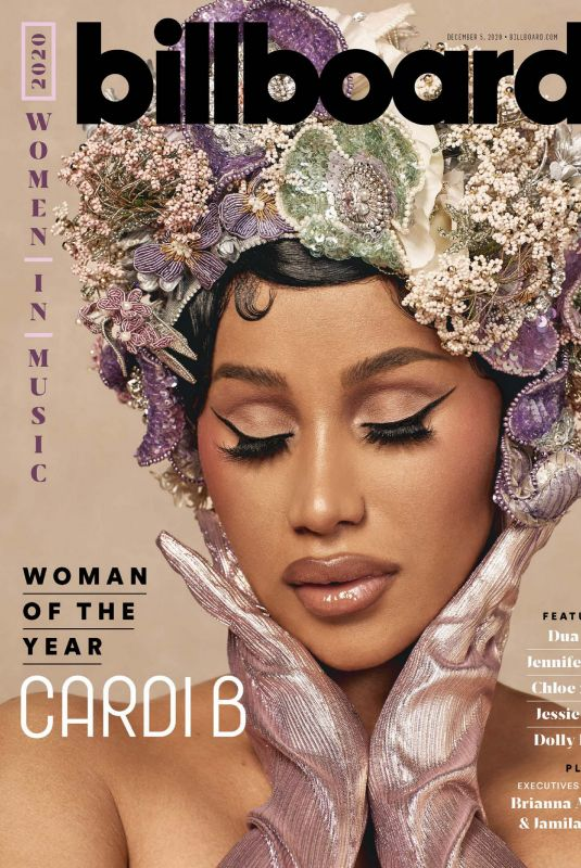 CARDI B in Billboard Magazine, December 2020
