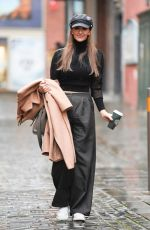 CATHERINE TYLDESLEY Heading to The Ceremony Rehersal in Leeds 12/03/2020