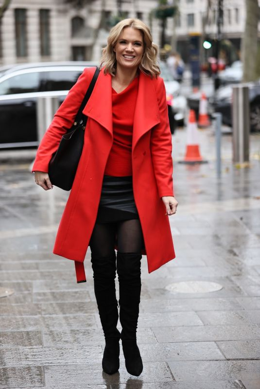 CHARLOTTE HAWKINS Out in London 12/18/2020