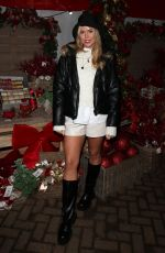 CHLOE MEADOWS on the Set of TOWIE Christmas Special 12/02/2020
