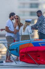 CHRISHELL STAUSE, CASSIE SCERBO, Keo Motsepe and Gleb Savchenko at a Boat in Cabo San Lucas 12/17/2020