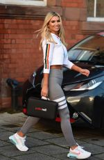 CHRISTINE MCGUINNESS Leaves a Photoshoot in Manchester 12/14/2020