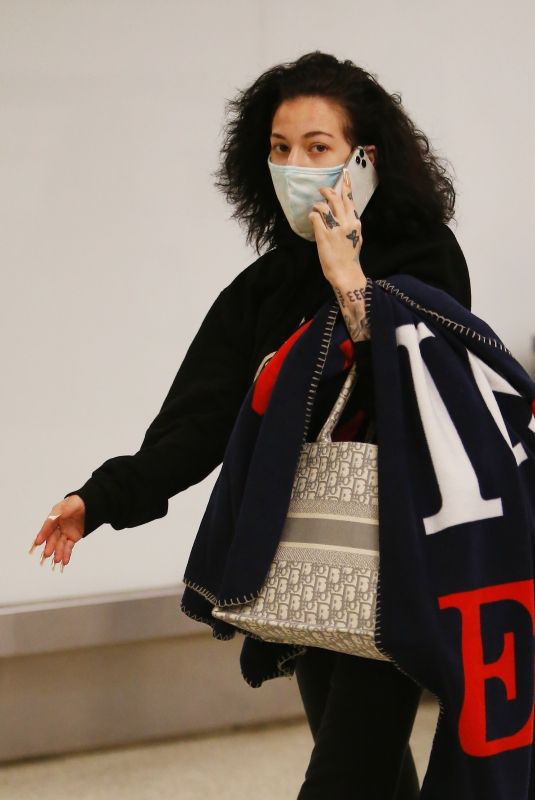 DANIELLE BREGOLI at LAX Airport in Los Angeles 12/27/2020