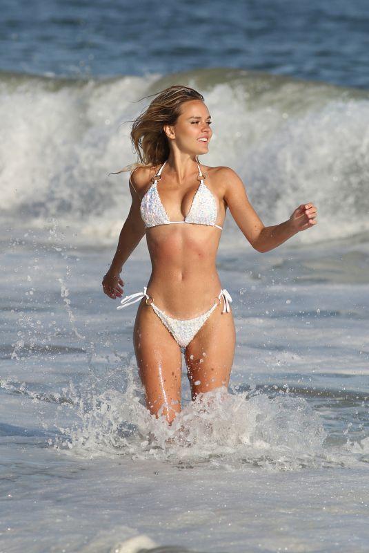 DASHA INYUTKINA in Bikini for 138 Water in Malibu 12/08/2020