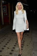 DENISE VAN OUTEN Leaves a Photoshoot in London 12/18/2020