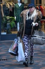 DENISE VAN OUTEN Out Shopping in Chelmsford 12/19/2020