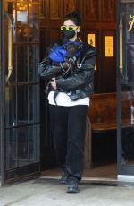 DUA LIPA Leaves Bowery Hotel in New York 12/20/2020