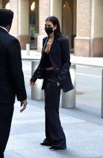 DUA LIPA Leaves Her Apartment in New York 12/09/2020